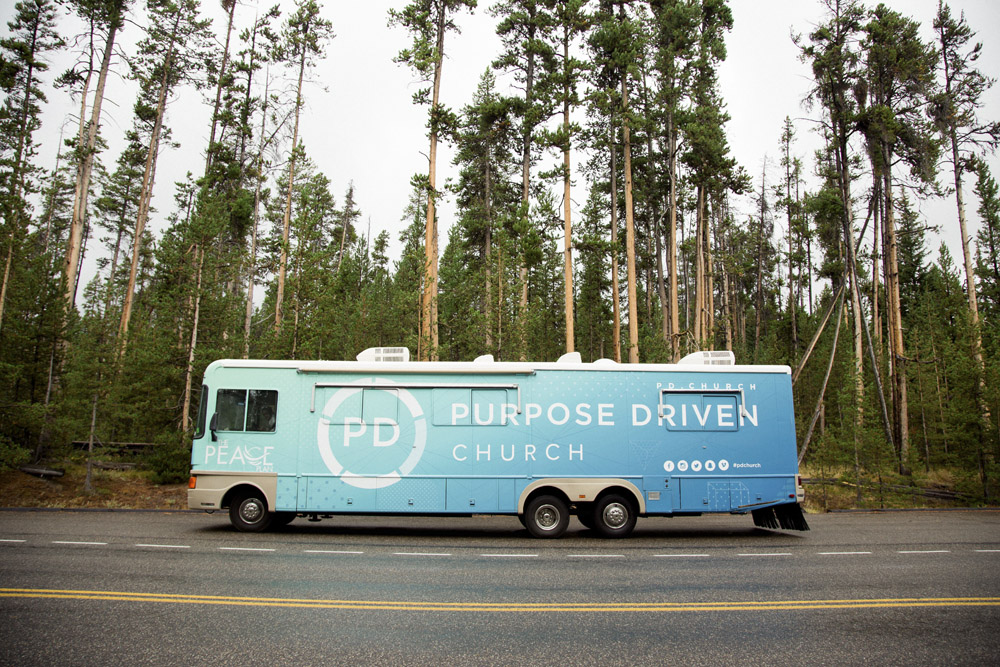 pdc tour bus forest