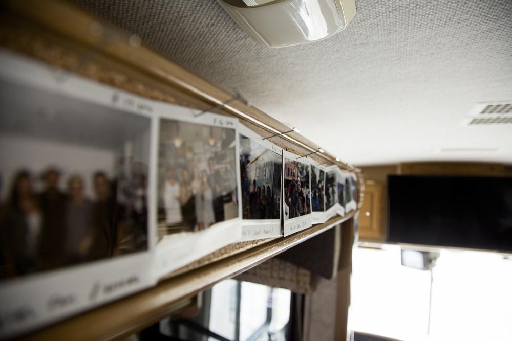 PDC Tour Inside Bus