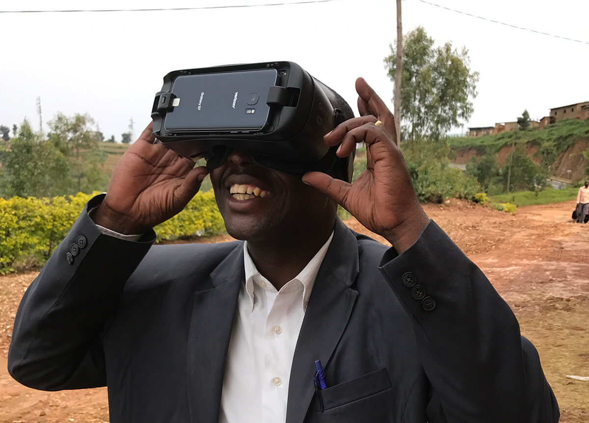 Capturing Stories for PEACE Virtual Reality Experience