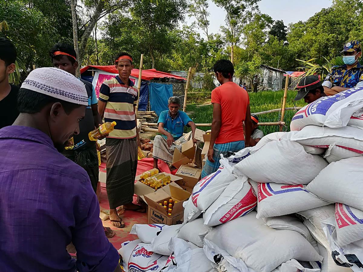 Rohingya humanitarian disaster