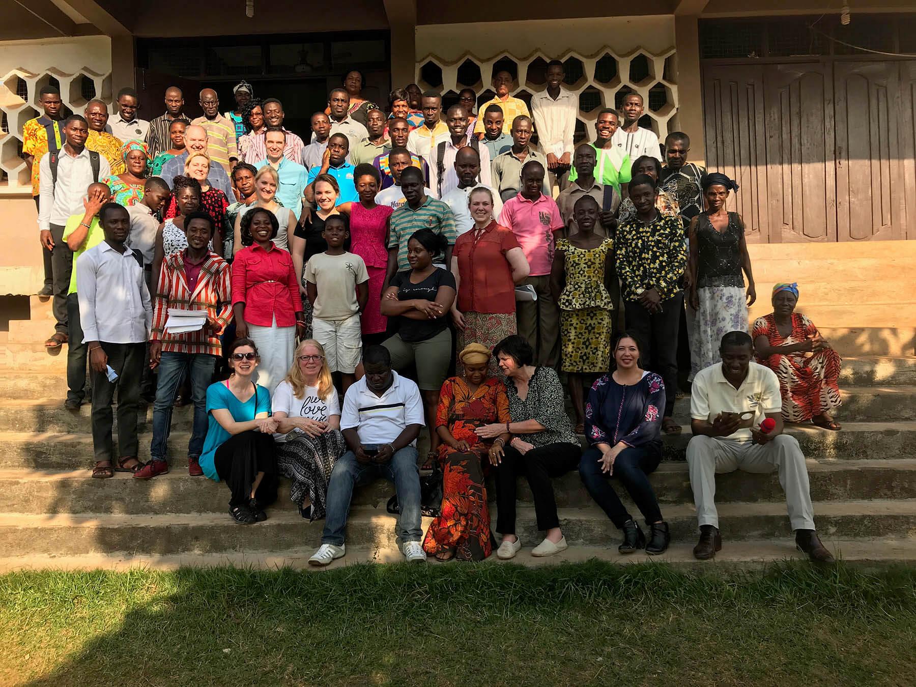 Ghana Grads Purpose Driven