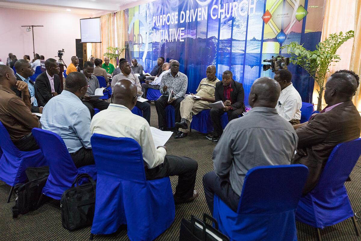 Lusaka Zambia Purpose Driven Church Training